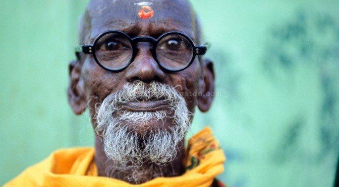 Pilgrim in south India.