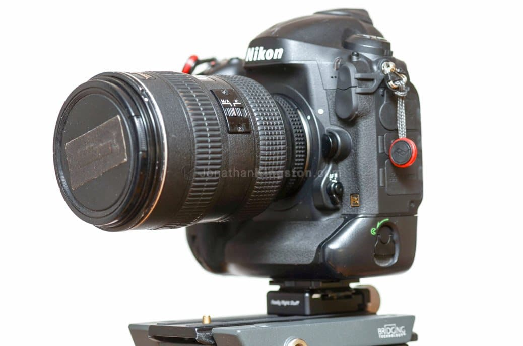 Manfrotto 502 Flat Base Head with Really Right Stuff B2-FAB attached to its plate.