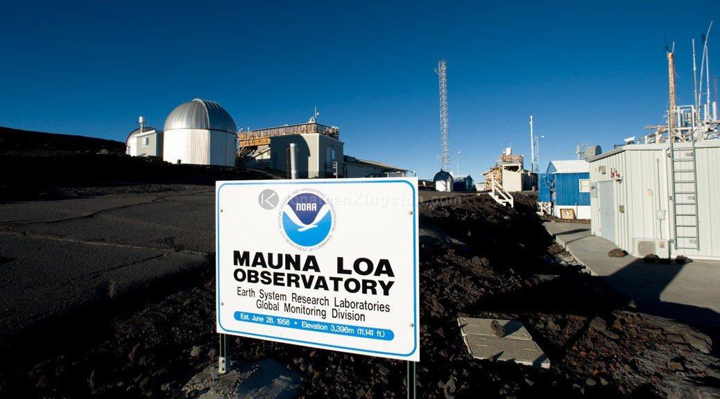 Mauna Loa Observatory by Jonathan Kingston/National Geographic Creative